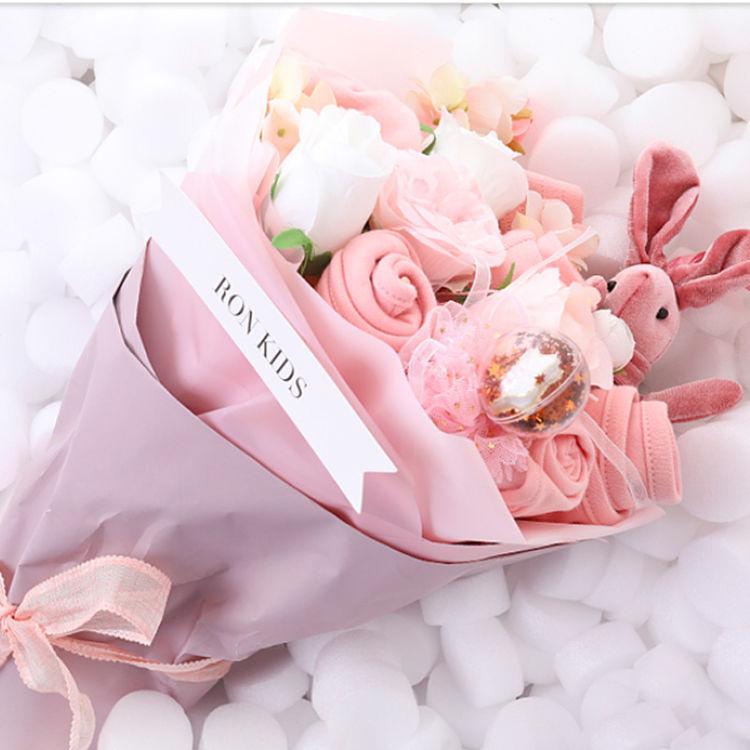 新生儿花束创意礼盒