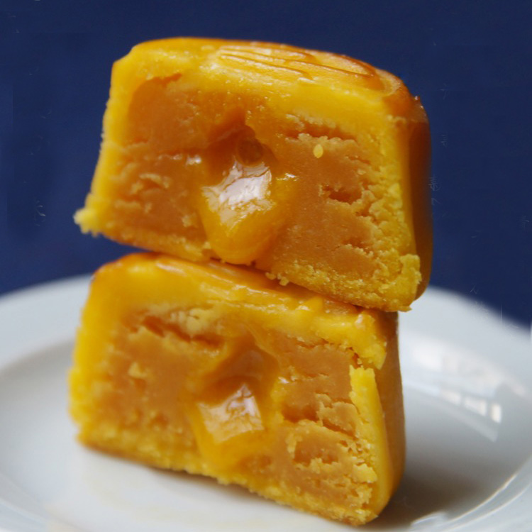 素直 流心奶黄中秋月饼礼盒