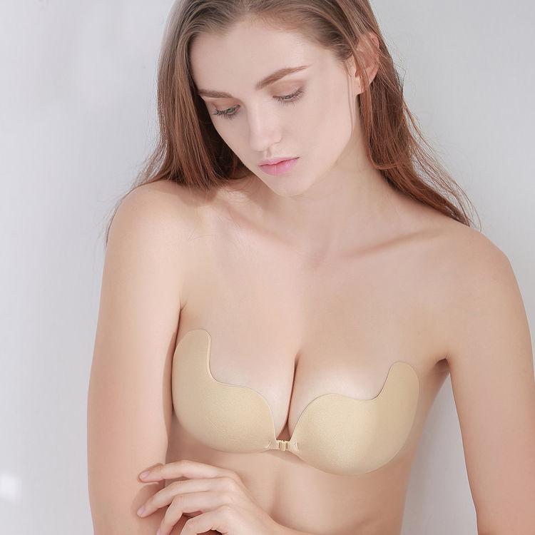 台湾波波小姐 硅胶隐形文胸贴 无肩带