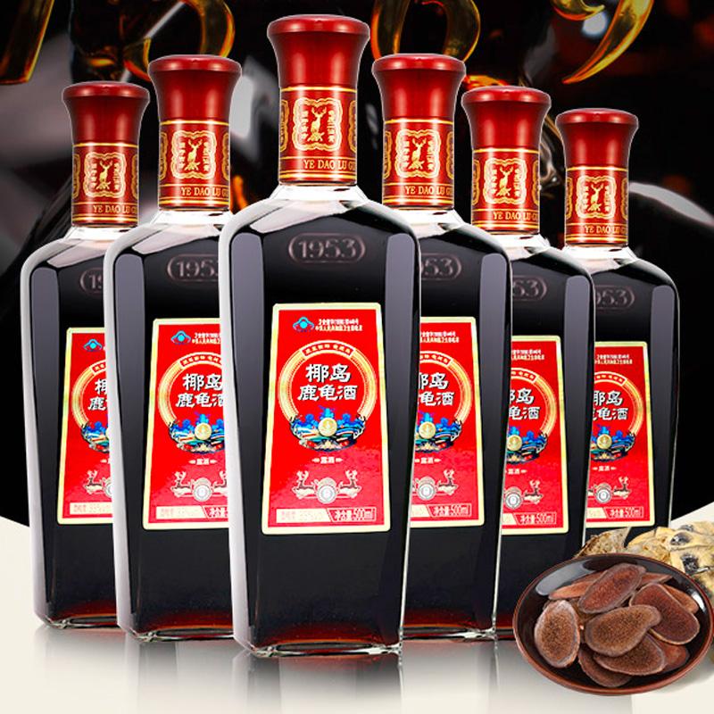椰岛鹿龟酒