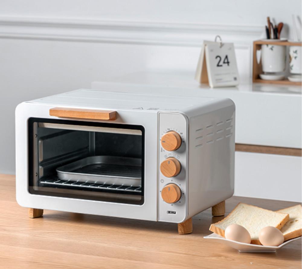 小宇青年  烘焙多功能复古电烤箱