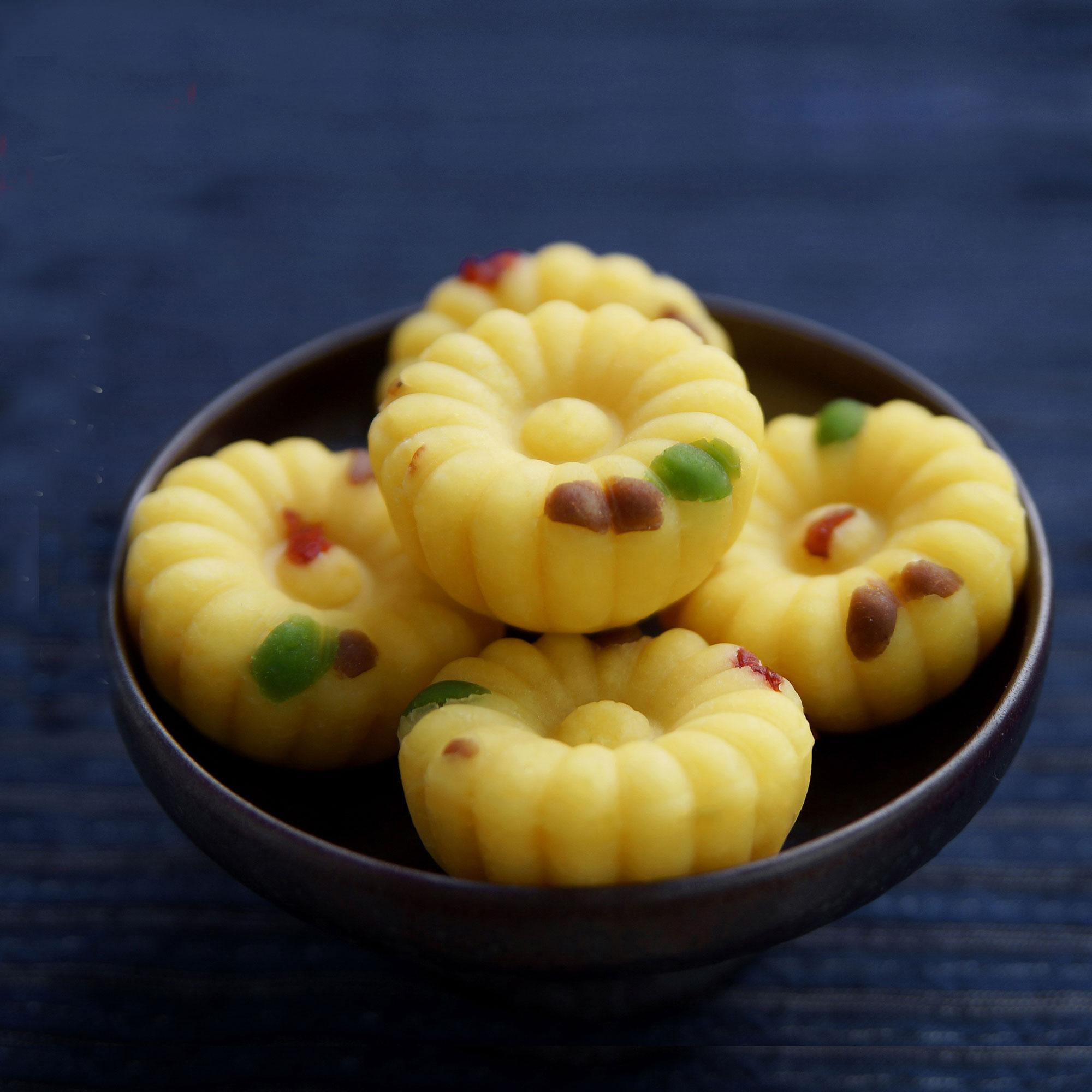 素直 原味绿豆糕 杭州传统茶点