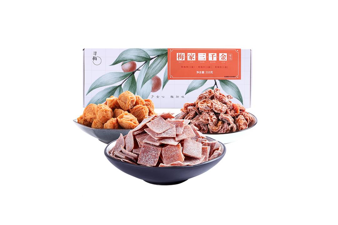 味BACK | 梅家三千金 310g/盒