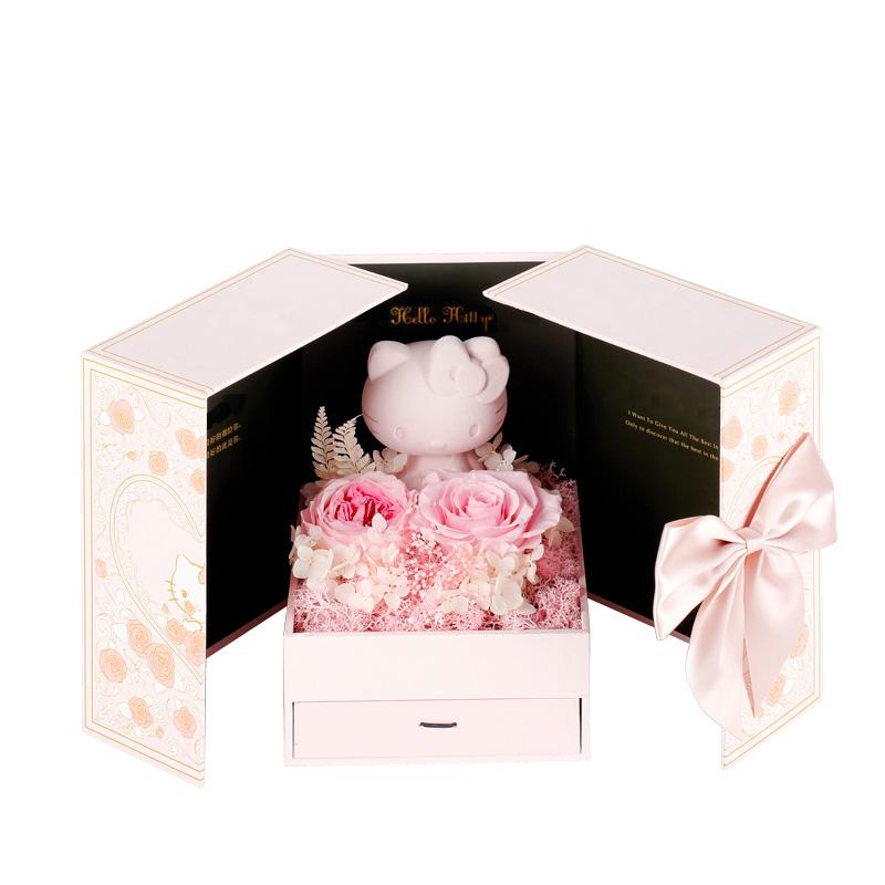 Hello Kitty 进口永生花礼盒