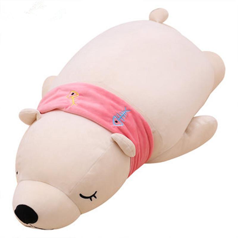 北极熊抱枕
