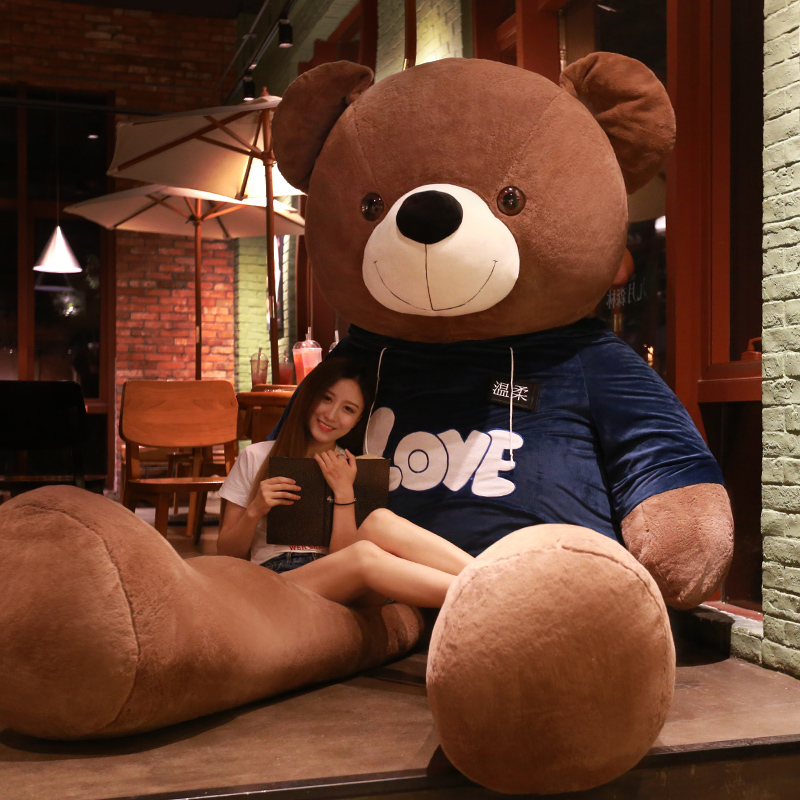 大熊毛绒玩具