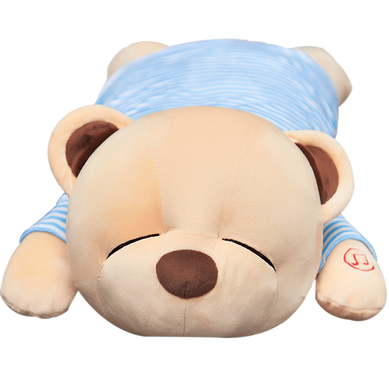 趴趴熊音乐抱枕