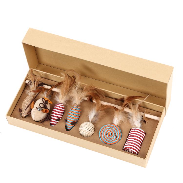 猫玩具礼盒套装