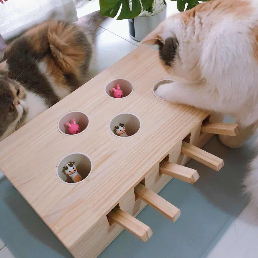 抖音同款 猫咪玩具打地鼠机
