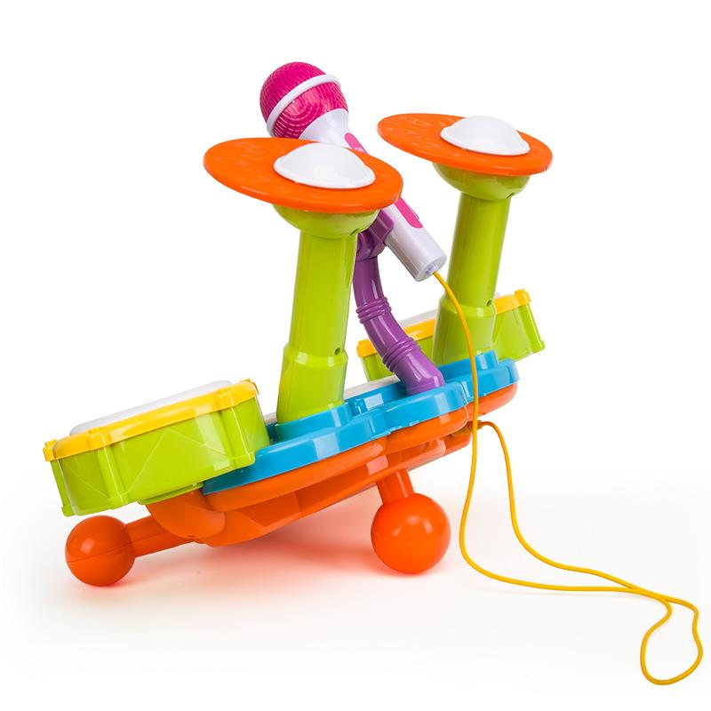 幼儿宝宝1-6岁儿童架子鼓