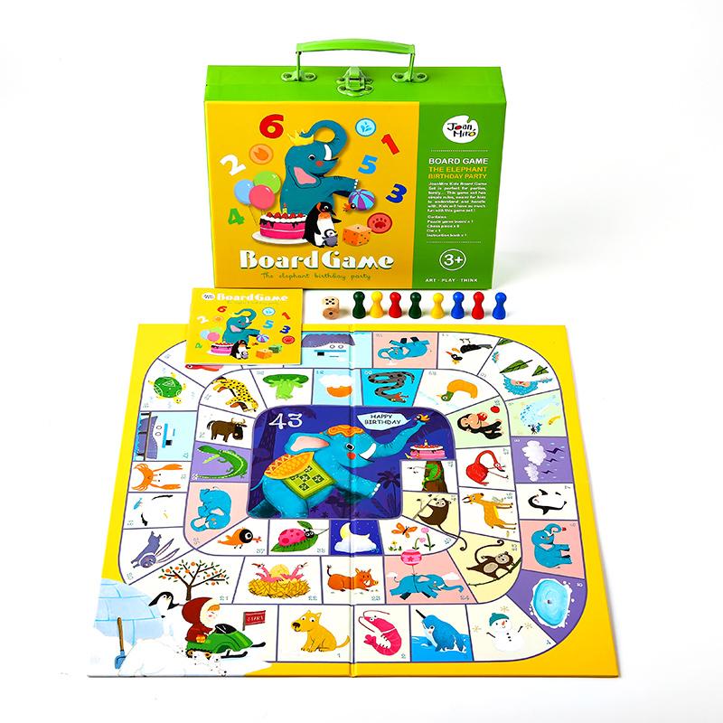 儿童飞行棋益智游戏棋