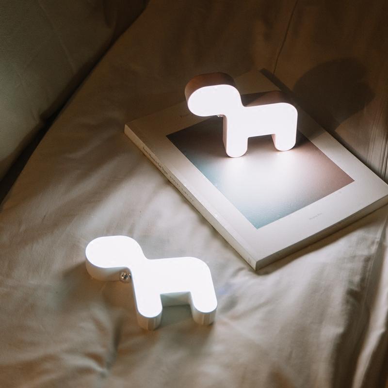 小狗氛围柔光灯 居家暖心