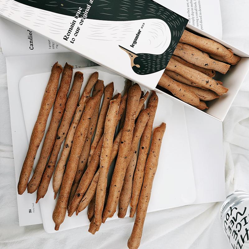 黑胡椒糯米小麦能量棒 低卡无蔗糖无油