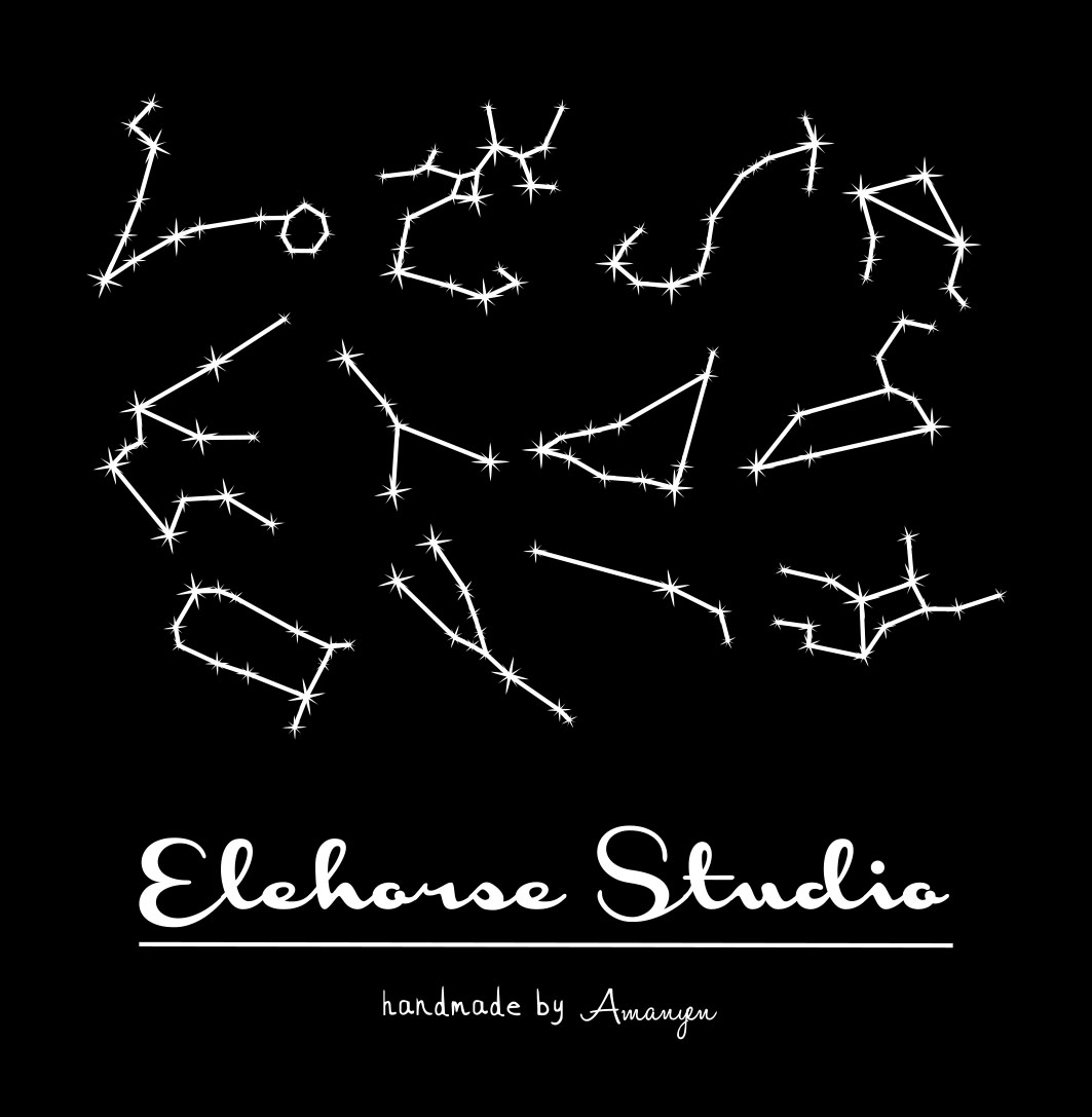 Elehorse Studio  香薰蜡烛 Scented Candle No.12 星座系列