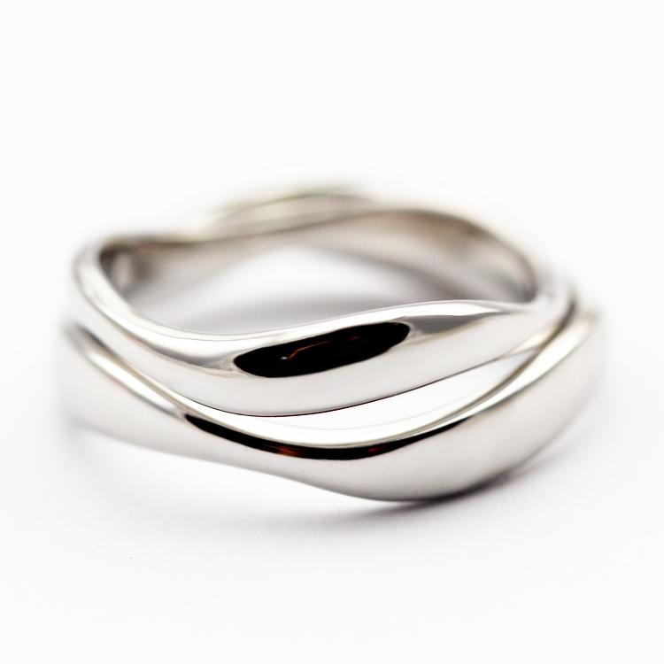 本笙原创设计 长相守情侣戒指