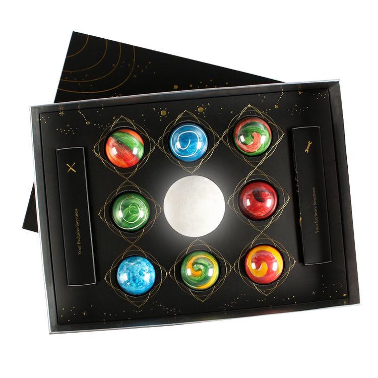 ,星空巧克力礼盒,给她宇宙级别的甜蜜