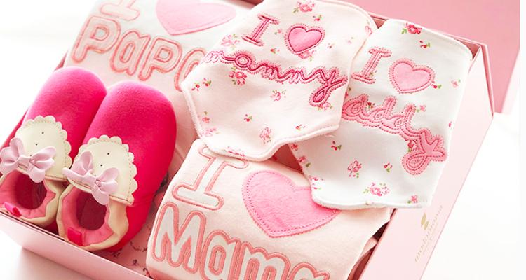 女宝宝满月礼物,首选好看又实用的礼盒