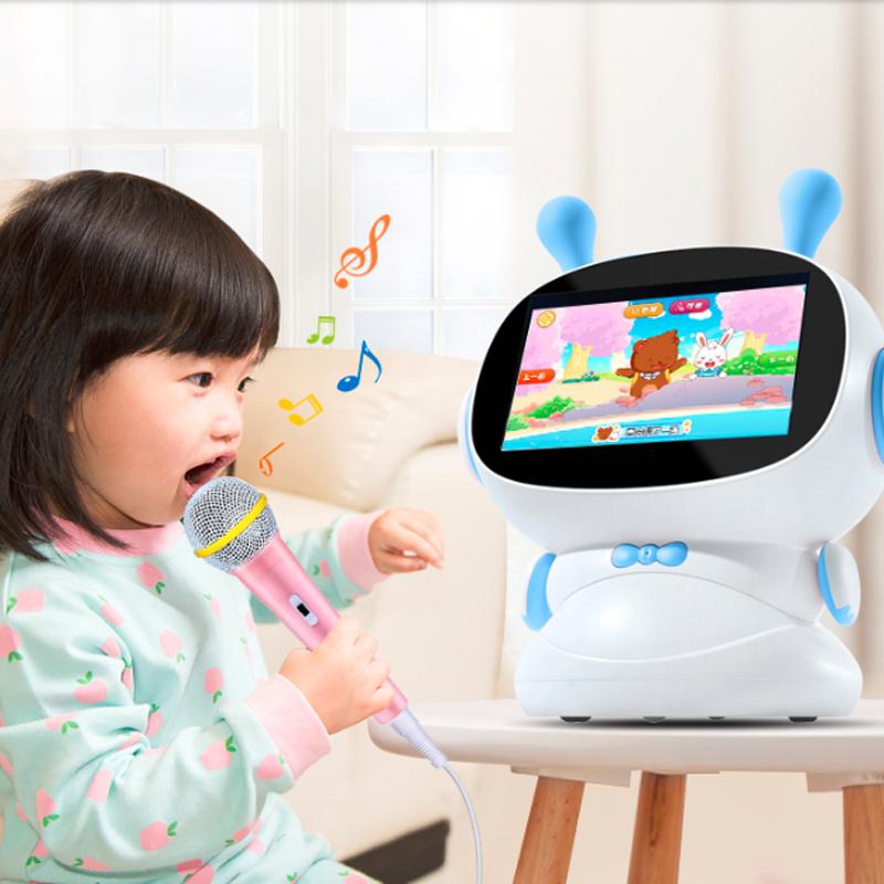 兔小贝机器人早教学习机