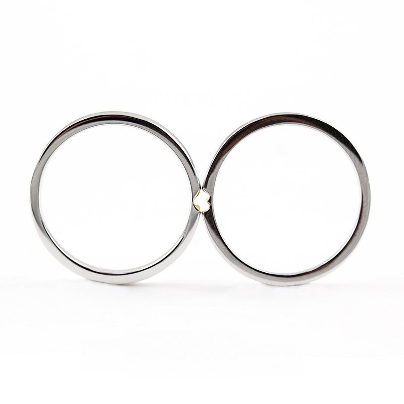 爱你的心 情侣戒指