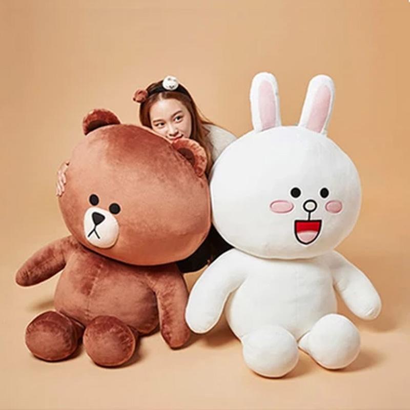 布朗熊1.2米公仔抱抱熊