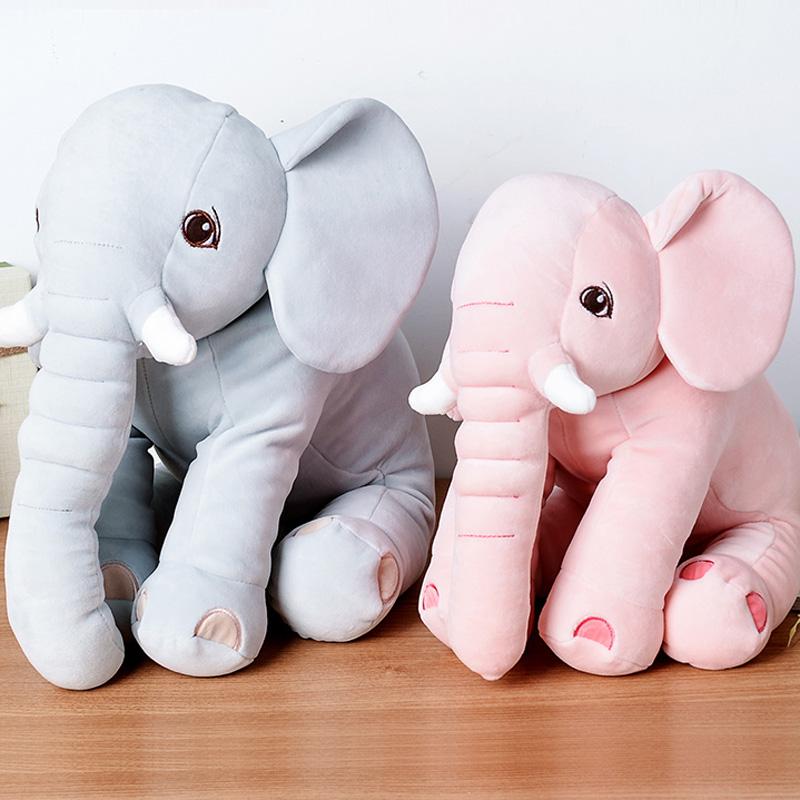 毛绒安抚大象抱枕