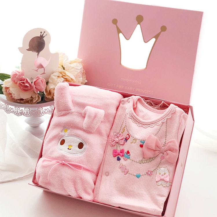 ,女宝宝满月礼物,首选好看又实用的礼盒
