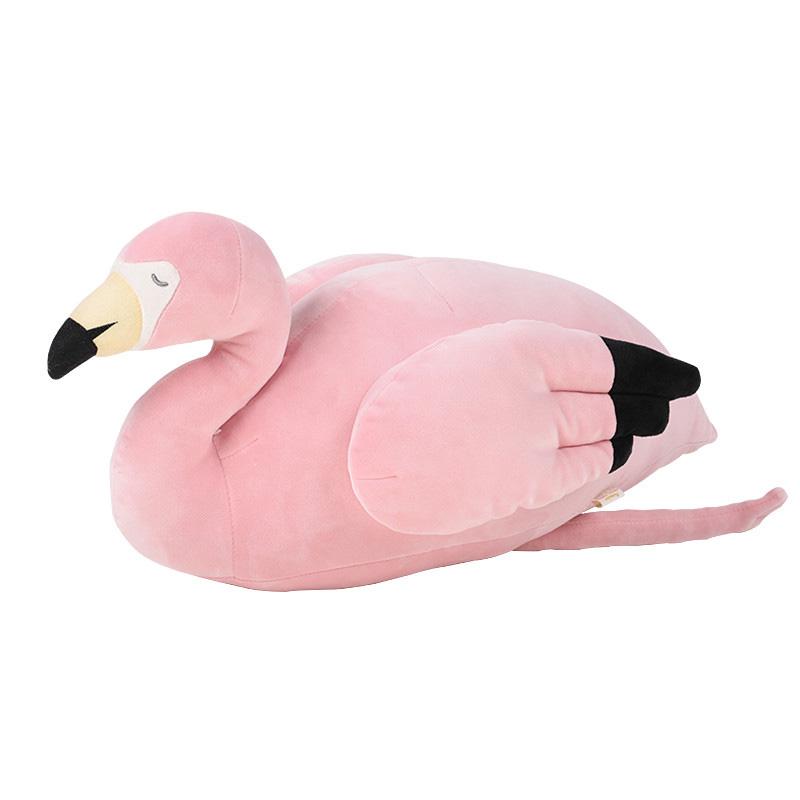 火烈鸟抱枕