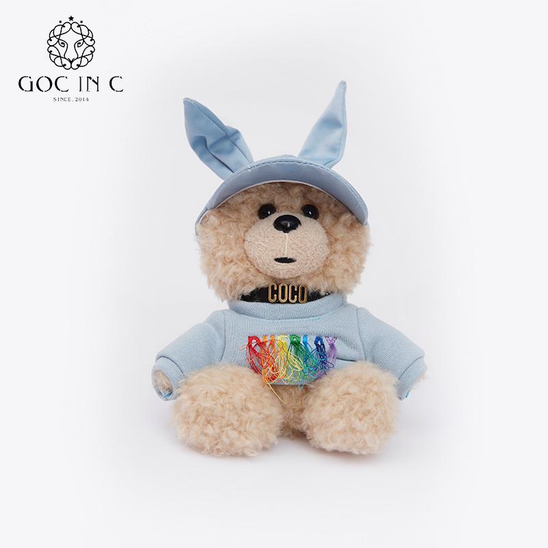 GOC IN C联名DUEPLAY兔子熊 充电宝10000毫安