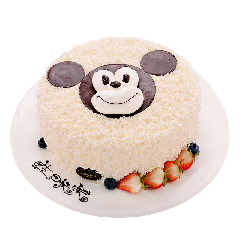 爱达乐 米奇儿童生日蛋糕