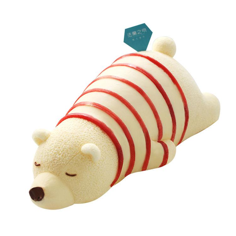 法兰之吻 熊宝宝 草莓慕斯蛋糕