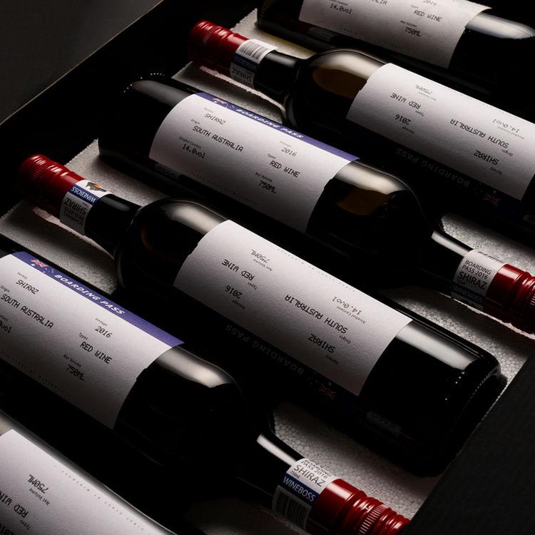 ,高颜值葡萄酒,商务赠礼首选!
