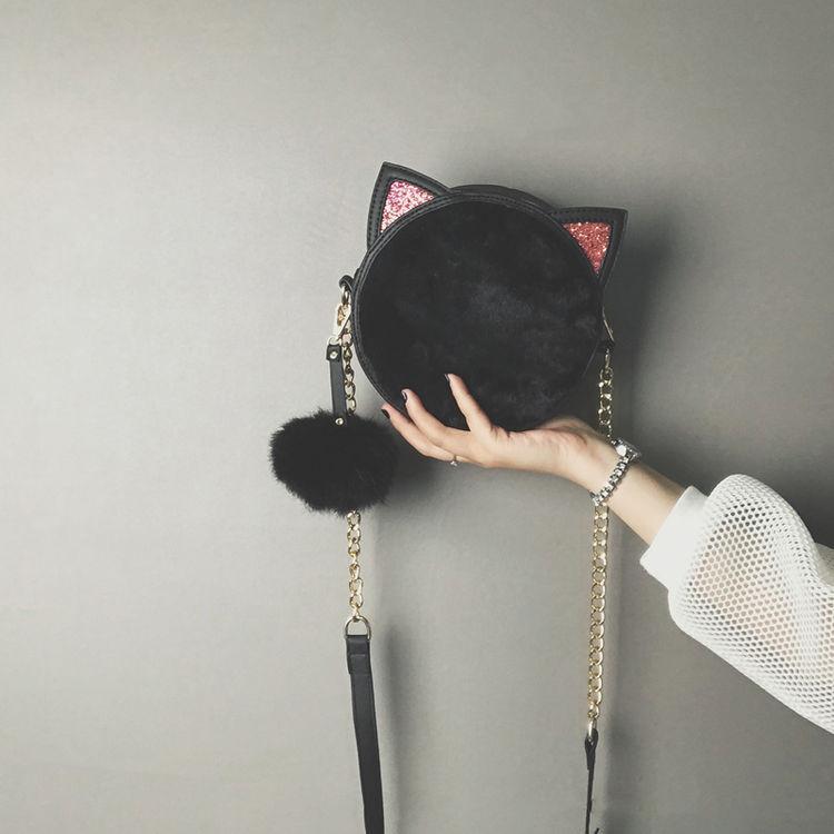 ,在家撸猫不如拿个毛绒绒的包包!