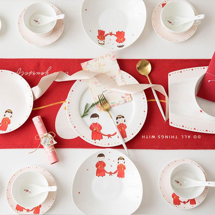 ,新婚生活,从一套精美的陶瓷餐具开始