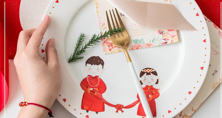 新婚生活,从一套精美的陶瓷餐具开始