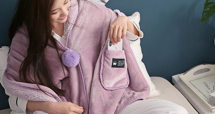 暖心小毛毯,恰到好处的呵护