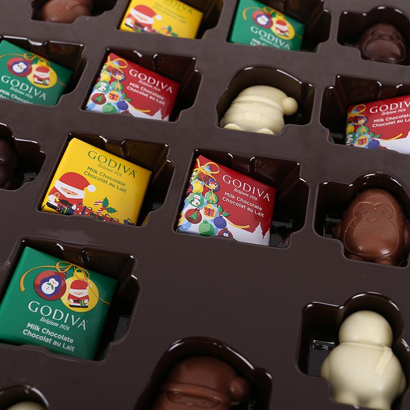 GODIVA歌帝梵 圣诞倒计时日历巧克力礼盒