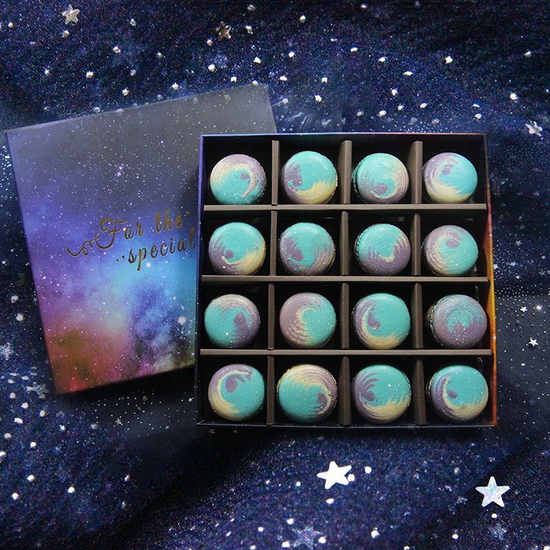 星空马卡龙甜点礼盒装