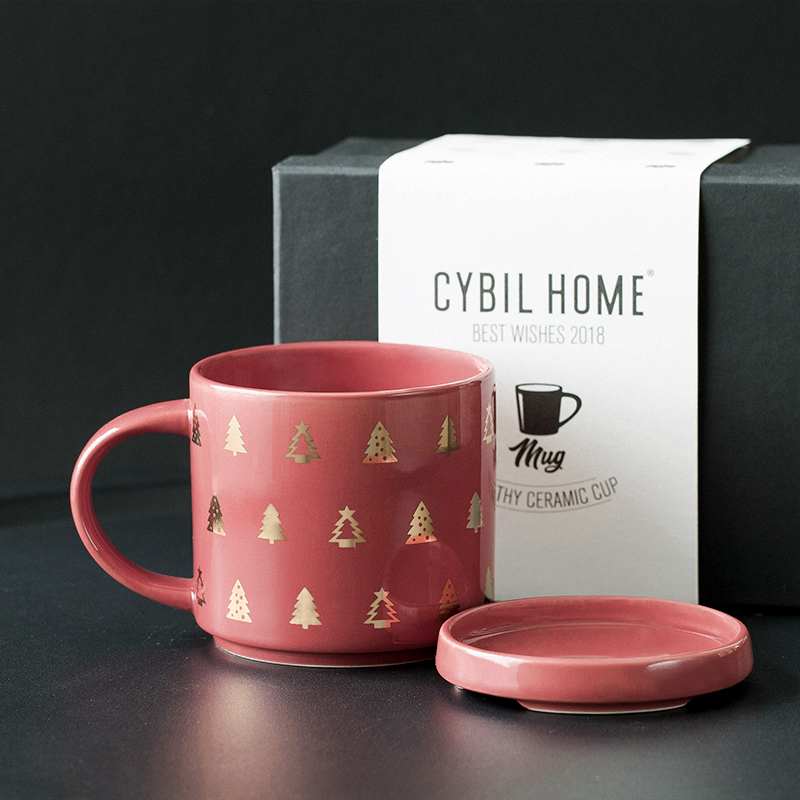cybil 美式大容量情侣杯礼盒