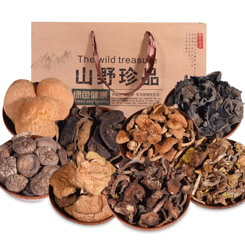 东北特产黑木耳蘑菇年货大礼包