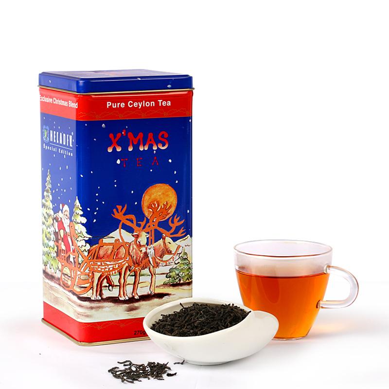 锡兰红茶茶叶 圣诞茶礼 礼盒装