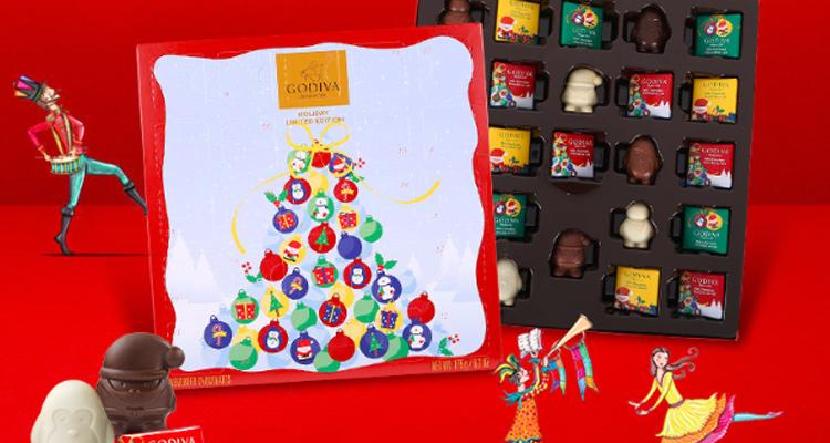 圣诞礼物没着落?今年圣诞节送ta不一样的巧克力圣诞礼盒!