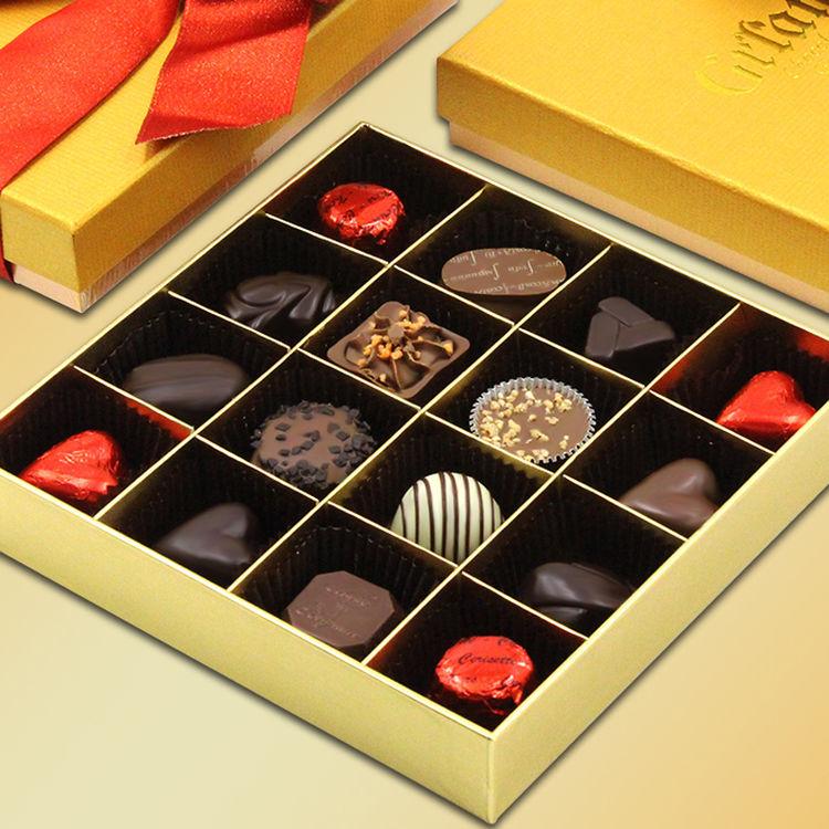 比利时进口巧克力礼盒装 圣诞节零食