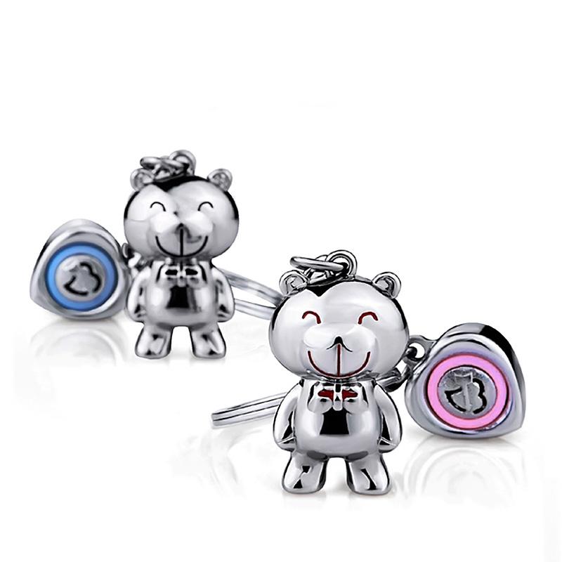 小安熊 情侣钥匙扣
