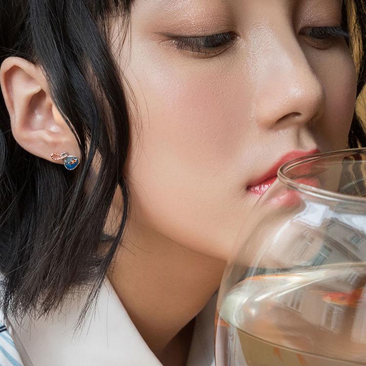 ,这些和风饰品献给日本迷的她,正中心坎