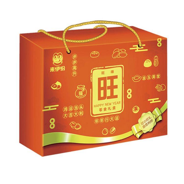 """春节礼盒(旺),坚果礼盒已备好,新年带回家的""""一箱情意""""!"""