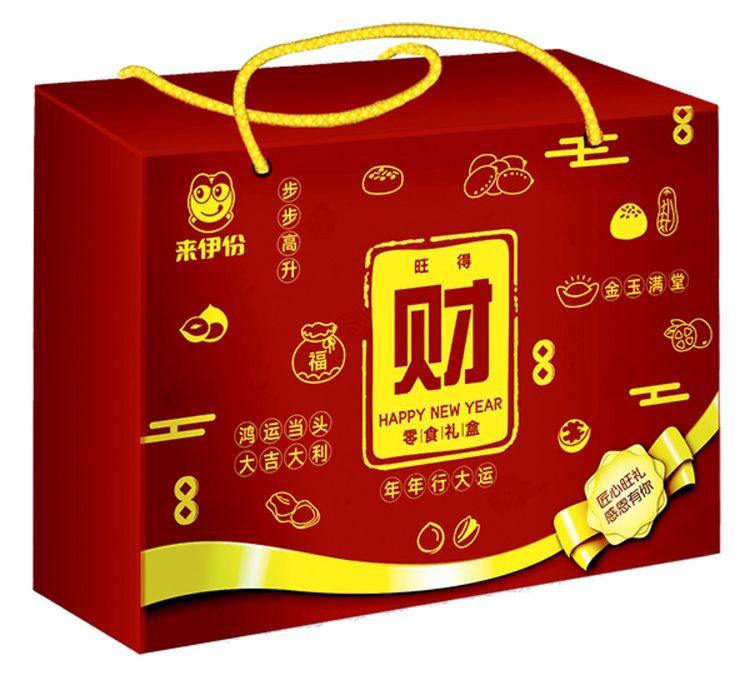 """春节礼盒(财),坚果礼盒已备好,新年带回家的""""一箱情意""""!"""