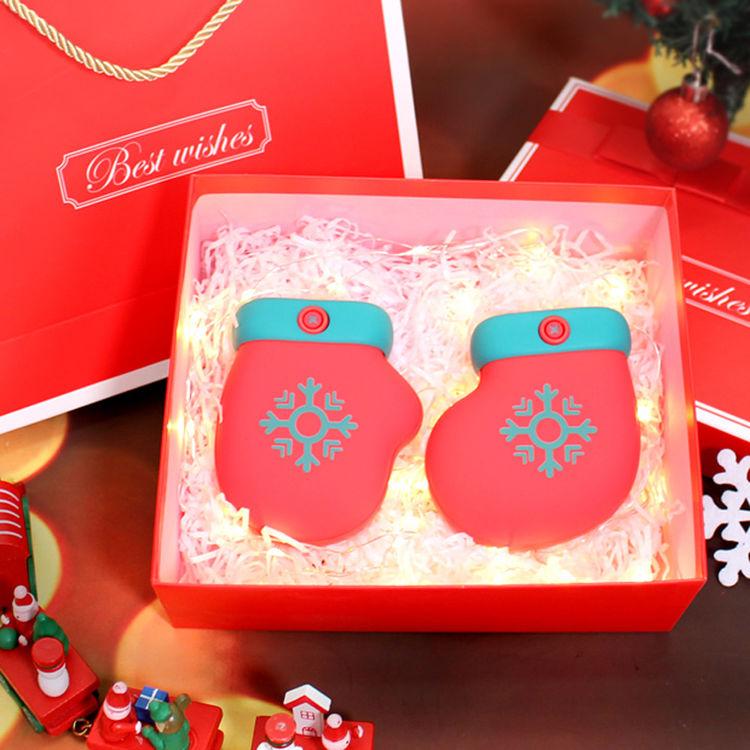 手套袜子暖手宝 圣诞节礼物 礼盒装