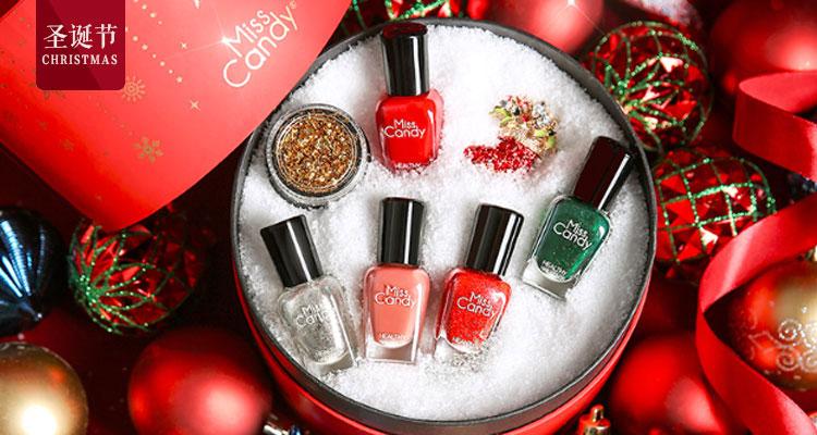 圣诞节快来了,赶紧为你的指甲穿上圣诞装