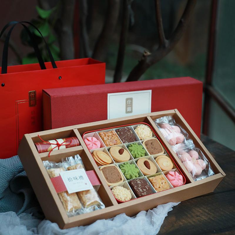 鲜花饼干糕点礼盒装
