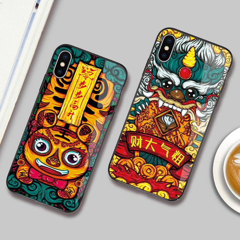 喜庆中国风苹果手机壳